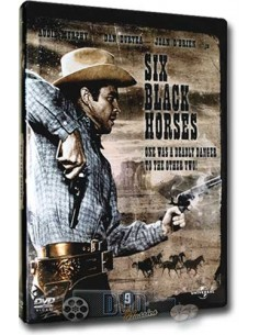 Six Black Horses - Audie Murphy - DVD (1962)