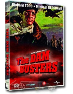 The Dam Busters - Michael Redgrave - Mark Robson - DVD (1954)