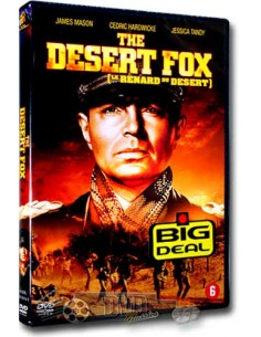 The Desert Fox - James Mason - Henry Hathaway - DVD (1951)