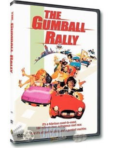 The Gumball Rally - Gary Busey, Raul Julia - DVD (1976)
