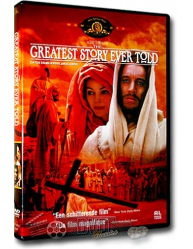 The Greatest Story Ever Told - Max von Sydow - DVD (1965)