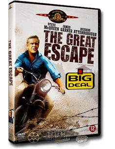 The Great Escape - Steve McQueen - John Sturges - DVD (1963)