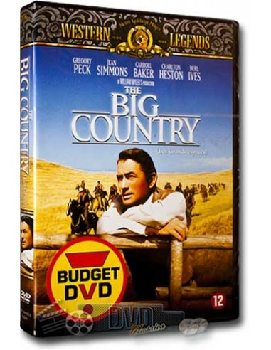 The Big Country - Gregory Peck - William Wyler - DVD (1958)