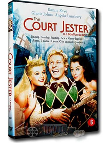 The Court Jester - Danny Kaye, Angela Lansbury - DVD (1955)