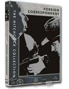 The Foreign Correspondent - Joel McCrea - Hitchcock - DVD (1940)