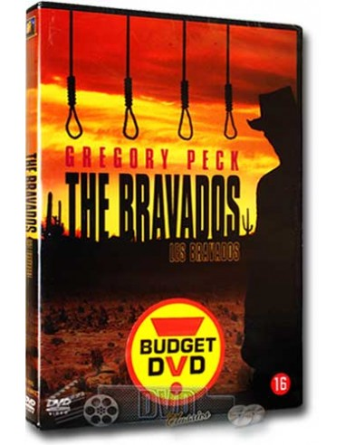 The Bravados - Gregory Peck, Joan Collins, Stephen Boyd - DVD (1958)