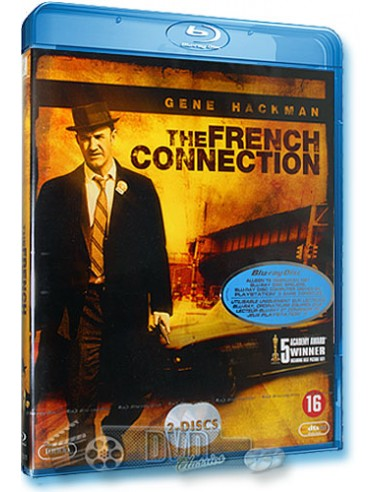 The French Connection - Gene Hackman - Blu-Ray (1971)