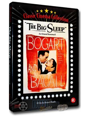 The Big Sleep - Humphrey Bogart, Lauren Bacall - DVD (1946)