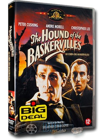 The Hound of the Baskervilles - Christopher Lee - DVD (1959)