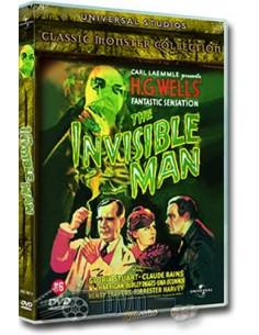 The Invisible Man - Claude Rains - DVD (1933)