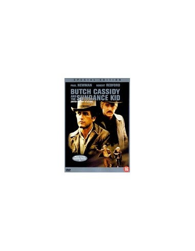 Butch Cassidy and The Sundance Kid - Redford, Newman - DVD (1969)