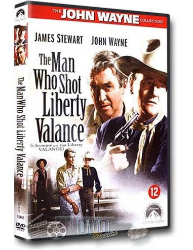 John Wayne in The Man Who Shot Liberty Valance - DVD (1962)