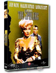 John Wayne in The Spoilers - Marlene Dietrich - DVD (1942)