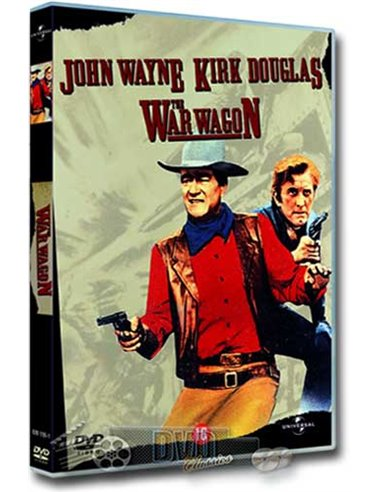 John Wayne in The War Wagon - Kirk Douglas - DVD (1967)