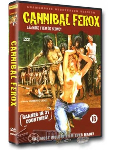 Cannibal Ferox - Umberto Lenzi - DVD (1981)