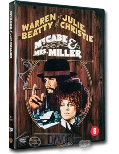 Mccabe & Mrs. Miller - Warren Beatty, Julie Christie - DVD (1971)