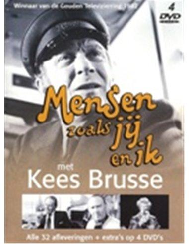 Mensen zoals jij en ik - Kees Brusse [4DVD] - DVD (1981)