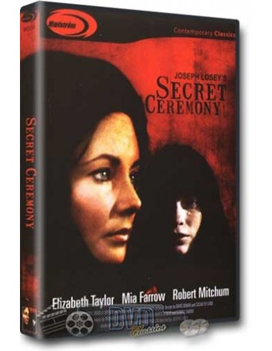 Secret Ceremony - Elizabeth Taylor, Mia Farrow - DVD (1968)