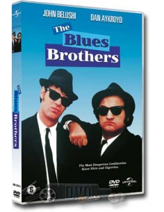 The Blues Brothers - Dan Aykroyd, John Belushi - DVD (1980)