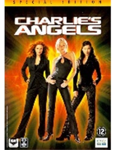 Charlie's Angels - Cameron Diaz, Drew Barrymore - DVD (2000)
