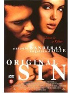 Original Sin - Antonio Banderas, Angelina Jolie - DVD (2001)