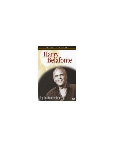 Harry Belafonte - Try to Remember - DVD