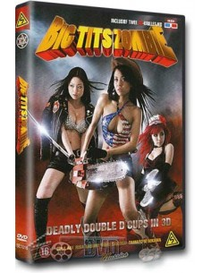 Big Tits Zombie 3D + 3d brilletjes - DVD (2010)