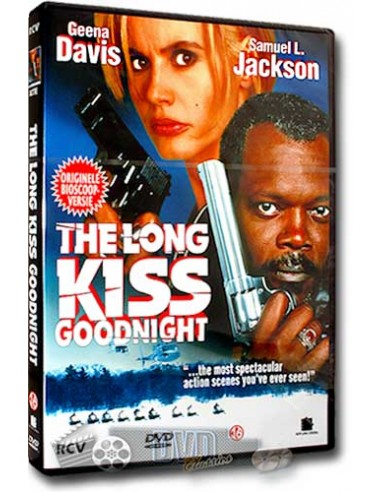 The Long Kiss Goodnight - Geena Davis, Samuel L. Jackson - DVD (1996)