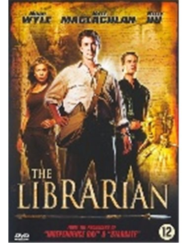 The Librarian 1 - Noah Wyle, Bob Newhart - DVD (2004)