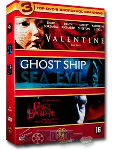 Valentine / Ghost Ship / Devil's Backbone - DVD (2001)