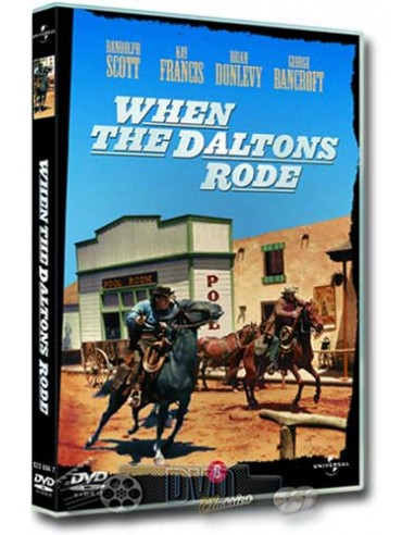 When The Daltons Rode - Randolph Scott - George Marshall - DVD (1940)