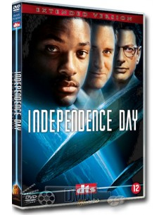 Independence Day - Jeff Goldblum, Will Smith - DVD (1996)