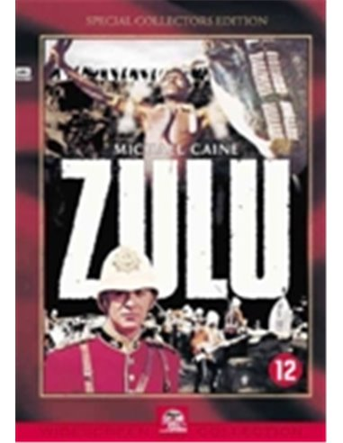 Zulu - Michael Caine - Jack Hawkins - Cy Endfield - DVD (1964)