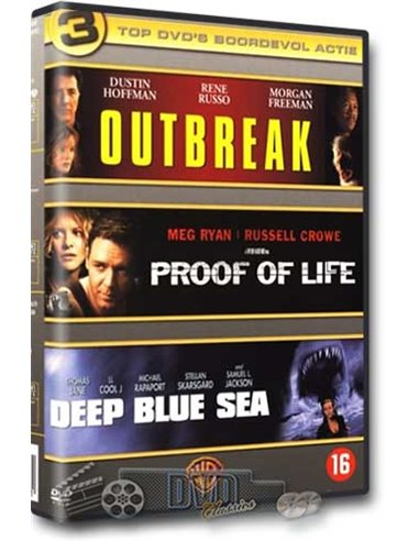 Outbreak / Proof Of Life / Deep Blue Sea - DVD