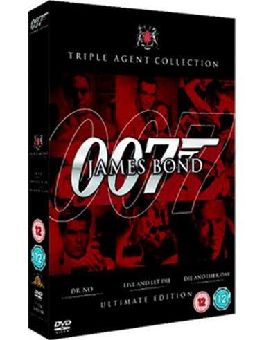 007 Bond - Dr No / Live And Let Die / Die Another Day - DVD (2006)