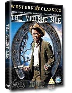 The Violent Men - Glenn Ford, Barbara Stanwyck, Edward G. Robinson - DVD (1955)