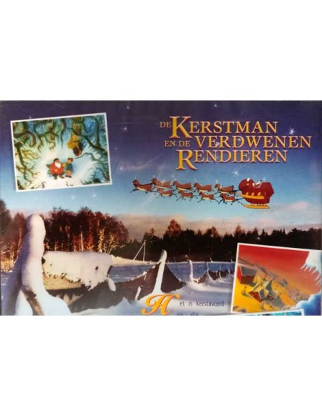 De Kerstman en de Verdwenen Rendieren - DVD (2005)