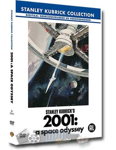 2001 - A Space Odyssey - Stanley Kubrick - DVD (1968)