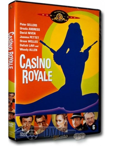 Casino Royale - Peter Sellers, David Niven, Ursula Andress - DVD (1967)