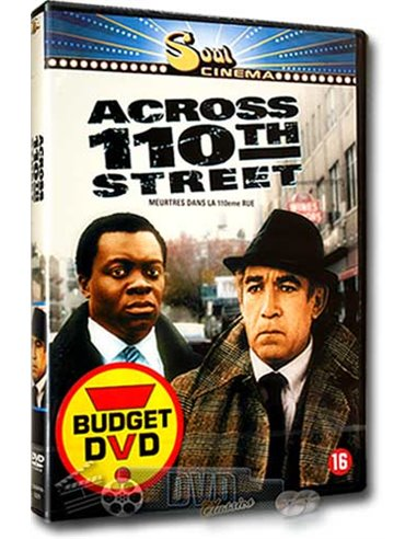 Across 110th Street - Anthony Quinn, Yaphet Kotto - DVD (1972)