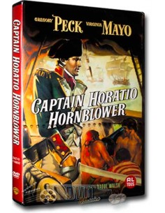 Captain Horatio Hornblower - Gregory Peck - Raoul Walsh - DVD (1951)