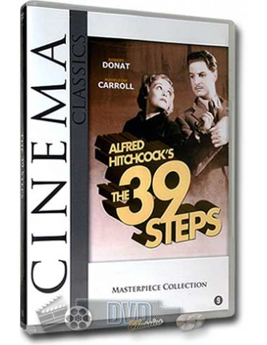 39 Steps - Robert Donat, Madeleine Carroll - DVD (1935)