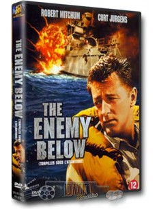 Enemy Below - Robert Mitchum, Curd Jürgens - Dick Powell - DVD (1957)