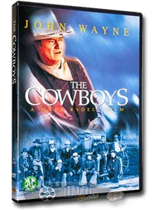 John Wayne in The Cowboys - Bruce Dern, Colleen Dewhurst - DVD (1972)