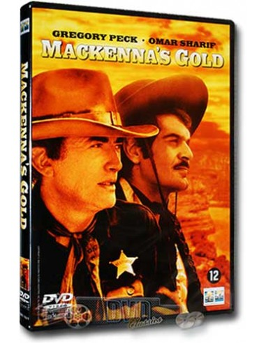 Mackenna's Gold - Gregory Peck, Omar Sharif - J. Lee Thompson - DVD (1969)