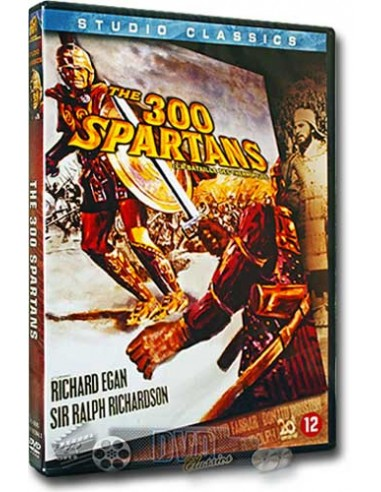 The 300 Spartans - Richard Egan, David Farrar, Diane Baker - DVD (1962)