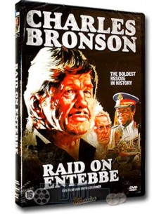 Raid on Entebbe - Charles Bronson, Peter Finch, Yaphet Kotto - DVD (1977)