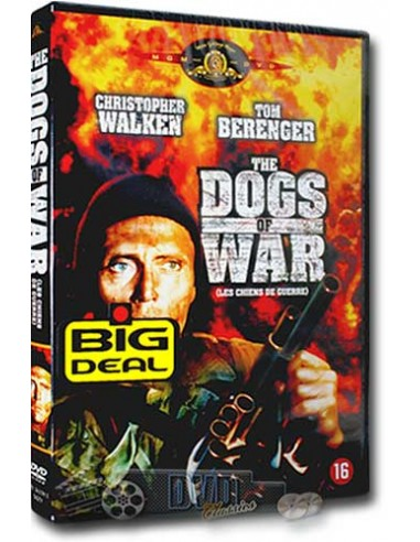 The Dogs of War - Christopher Walken, Tom Berenger - DVD (1981)
