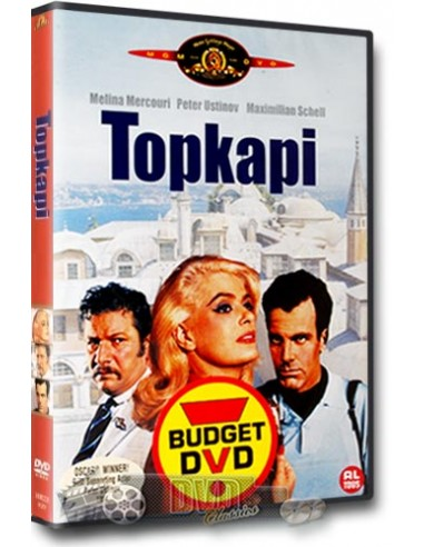 Topkapi - Melina Mercouri, Peter Ustinov, Maximilian Schell - DVD (1964)