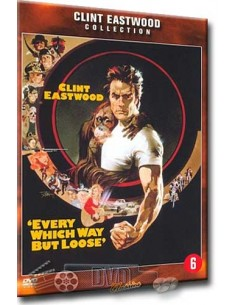 Every Which Way But Lose - Clint Eastwood, Sondra Locke - DVD (1978)